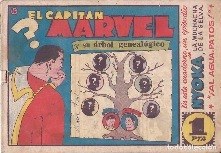 COMIC COLECCION EL CAPITAN MARVEL Nº 16 (Tebeos y Comics - Hispano Americana - Capitán Marvel)