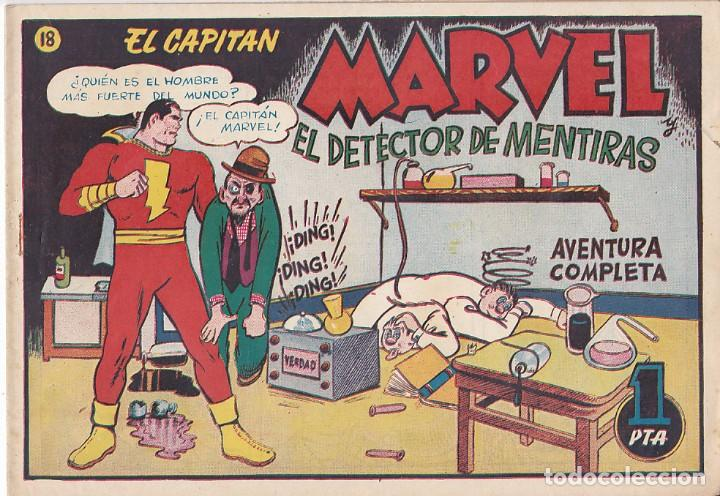 COMIC COLECCION EL CAPITAN MARVEL Nº 18 (Tebeos y Comics - Hispano Americana - Capitán Marvel)