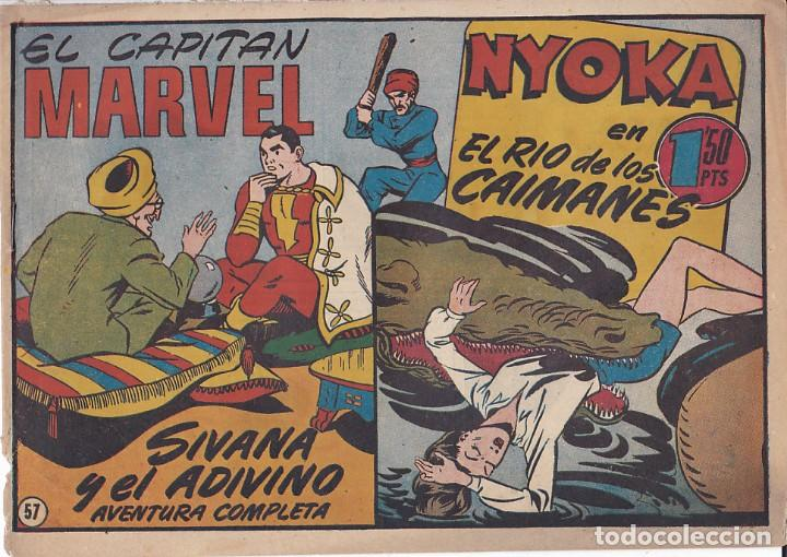 COMIC COLECCION EL CAPITAN MARVEL Nº 57 (Tebeos y Comics - Hispano Americana - Capitán Marvel)