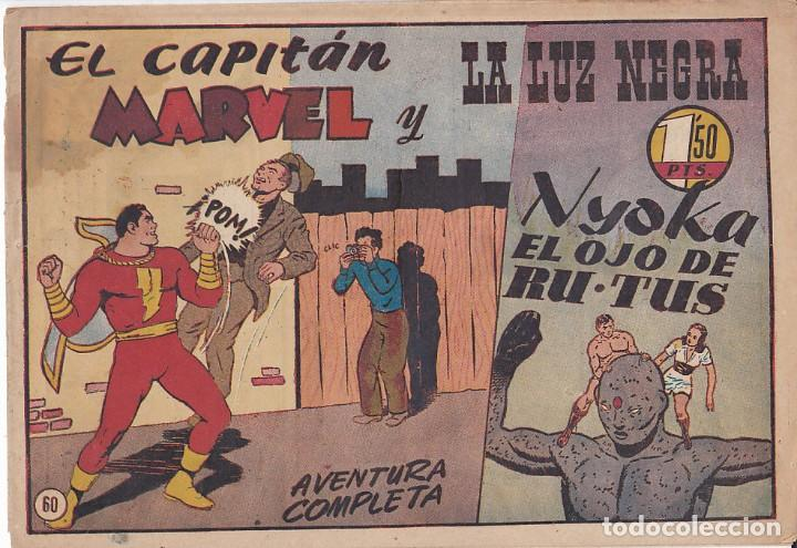 COMIC COLECCION EL CAPITAN MARVEL Nº 60 (Tebeos y Comics - Hispano Americana - Capitán Marvel)