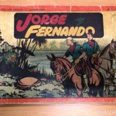 Tebeos: COMIC JORGE Y FERNANDO ALBUM ROJO Nº1 EDITORIAL HISPANO AMERICANA . Lote 170090116