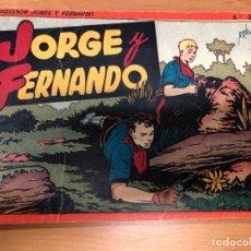Tebeos: COMIC JORGE Y FERNANDO ALBUM ROJO Nº2 EDITORIAL HISPANO AMERICANA . Lote 170090156