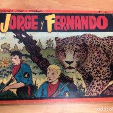 Tebeos: COMIC JORGE Y FERNANDO ALBUM ROJO Nº3 EDITORIAL HISPANO AMERICANA . Lote 170090228