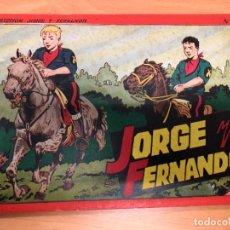 Tebeos: COMIC JORGE Y FERNANDO ALBUM ROJO Nº4 EDITORIAL HISPANO AMERICANA . Lote 170090276