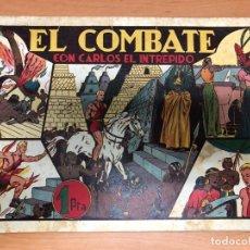 Tebeos: COMIC CARLOS EL INTREPIDO Nº10 EL COMBATE EDITORIAL HISPANO AMERICANA. Lote 170098800