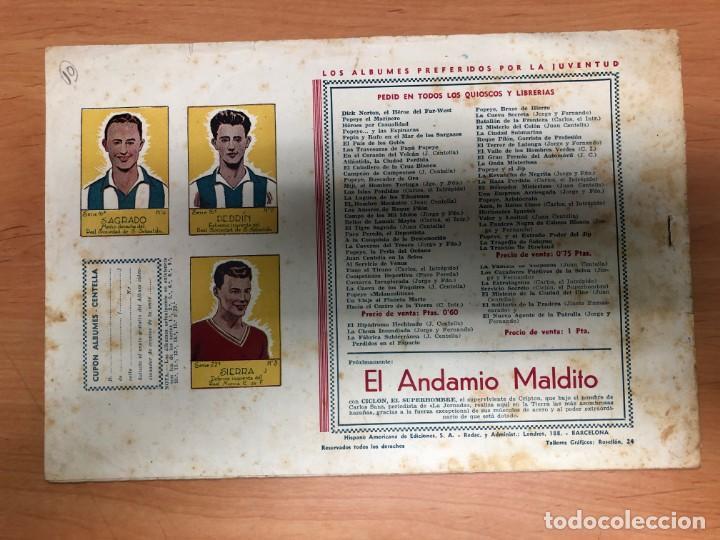 Tebeos: COMIC CARLOS EL INTREPIDO Nº10 EL COMBATE EDITORIAL HISPANO AMERICANA - Foto 2 - 170098800