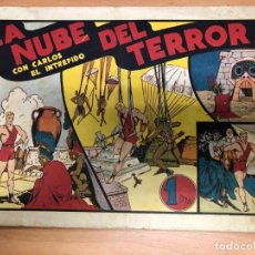 Tebeos: COMIC CARLOS EL INTREPIDO Nº11 LA NUBE DEL TERROR EDITORIAL HISPANO AMERICANA. Lote 170098888