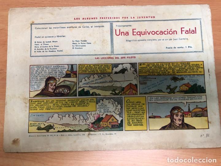 Tebeos: COMIC CARLOS EL INTREPIDO Nº11 LA NUBE DEL TERROR EDITORIAL HISPANO AMERICANA - Foto 2 - 170098888