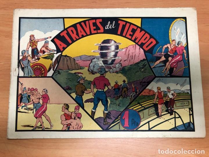 COMIC CARLOS EL INTREPIDO Nº12 A TRAVES DEL TIEMPO EDITORIAL HISPANO AMERICANA (Tebeos y Comics - Hispano Americana - Carlos el Intrépido)