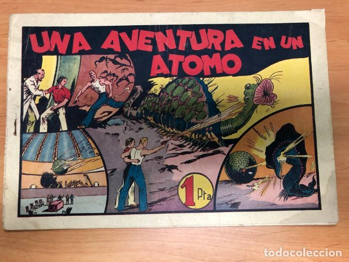 COMIC CARLOS EL INTREPIDO Nº13 UNA AVENTURA EN UN ATOMO EDITORIAL HISPANO AMERICANA (Tebeos y Comics - Hispano Americana - Carlos el Intrépido)