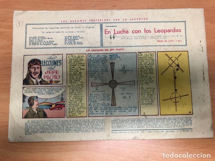 Tebeos: COMIC CARLOS EL INTREPIDO Nº13 UNA AVENTURA EN UN ATOMO EDITORIAL HISPANO AMERICANA - Foto 2 - 170099096