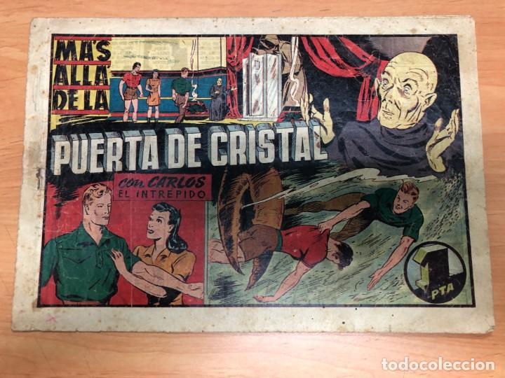 COMIC CARLOS EL INTREPIDO Nº23 MAS ALLA DE LA PUERTA DE CRISTAL EDITORIAL HISPANO AMERICANA (Tebeos y Comics - Hispano Americana - Carlos el Intrépido)