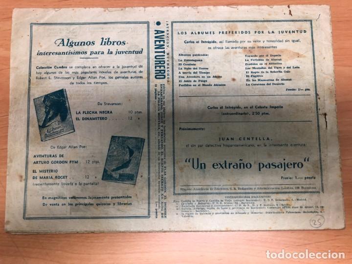 Tebeos: COMIC CARLOS EL INTREPIDO Nº23 MAS ALLA DE LA PUERTA DE CRISTAL EDITORIAL HISPANO AMERICANA - Foto 2 - 170099212