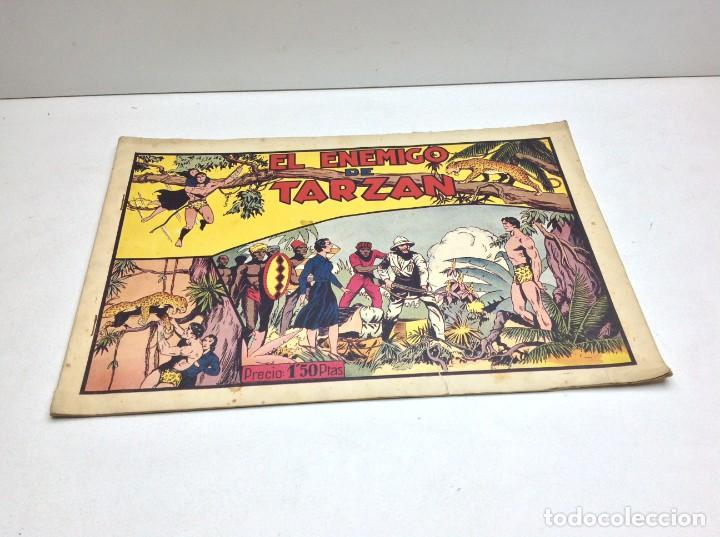 COMIC EL ENEMIGO DE TARZAN - HISPANO AMERICANA - ORIGINAL - 1942 (Tebeos y Comics - Hispano Americana - Tarzán)