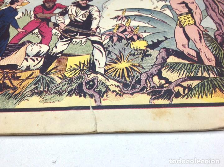Tebeos: COMIC EL ENEMIGO DE TARZAN - HISPANO AMERICANA - ORIGINAL - 1942 - Foto 2 - 170151260