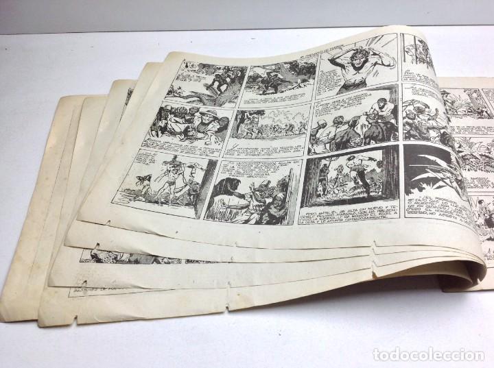 Tebeos: COMIC EL ENEMIGO DE TARZAN - HISPANO AMERICANA - ORIGINAL - 1942 - Foto 4 - 170151260