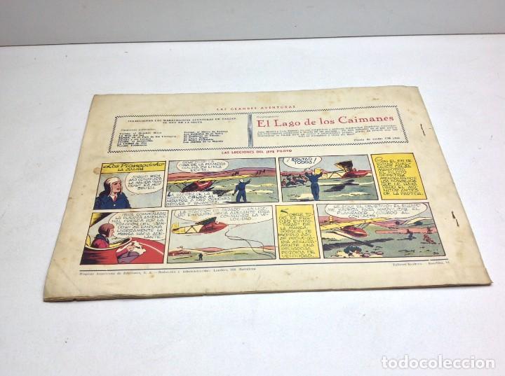 Tebeos: COMIC EL ENEMIGO DE TARZAN - HISPANO AMERICANA - ORIGINAL - 1942 - Foto 6 - 170151260
