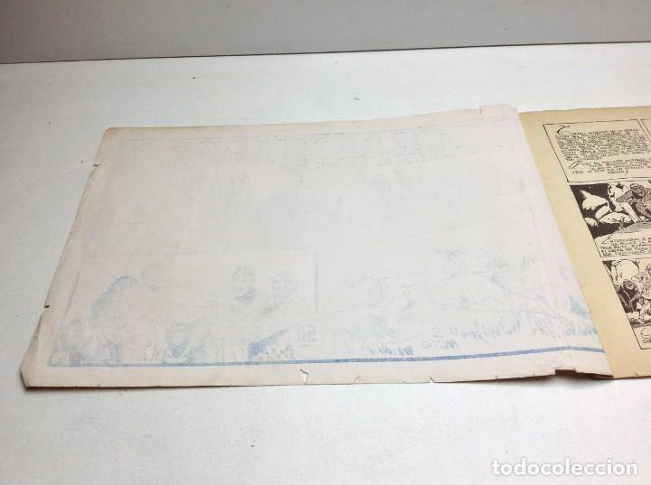 Tebeos: COMIC ENTRE MONSTRUOS - EDICIONES HISPANO AMERICANA - CON TARZAN EL HOMBRE MONO - ORIGINAL - Foto 2 - 170154476