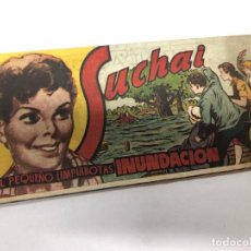 Tebeos: COMIC ORIGINAL COLECCION SUCHAI EDICION BOLSILLO Nº 130 EDITORIAL HISPANO AMERICANA. Lote 170195000