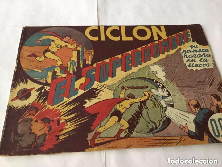 Tebeos: Ciclon- col. Completa 16 ejemplares - extraordinaria conservación - Foto 2 - 170850895