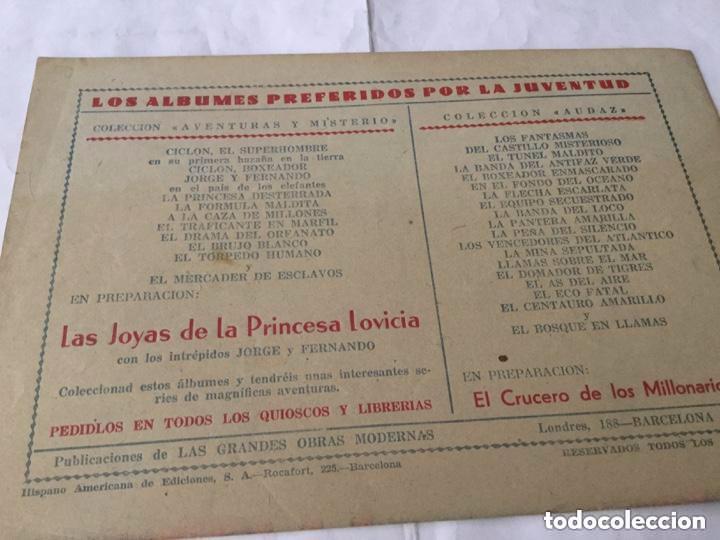 Tebeos: Ciclon- col. Completa 16 ejemplares - extraordinaria conservación - Foto 16 - 170850895