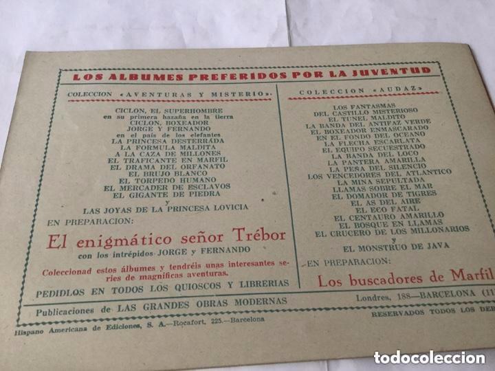 Tebeos: Ciclon- col. Completa 16 ejemplares - extraordinaria conservación - Foto 19 - 170850895