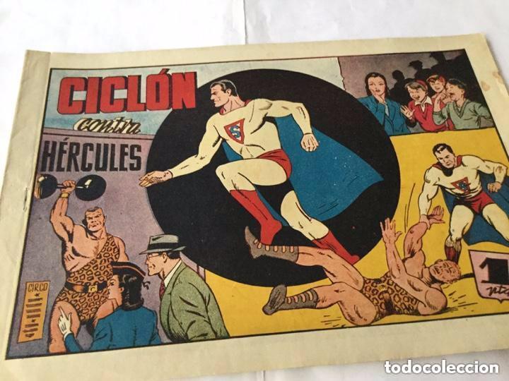 Tebeos: Ciclon- col. Completa 16 ejemplares - extraordinaria conservación - Foto 29 - 170850895