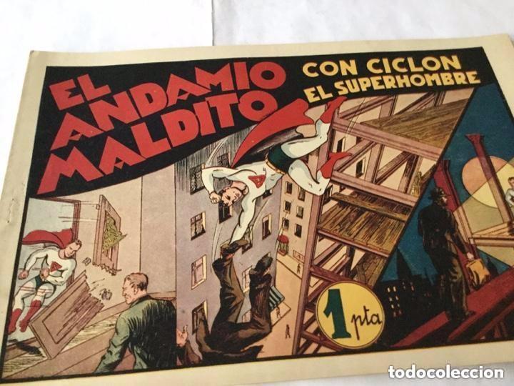 Tebeos: Ciclon- col. Completa 16 ejemplares - extraordinaria conservación - Foto 40 - 170850895