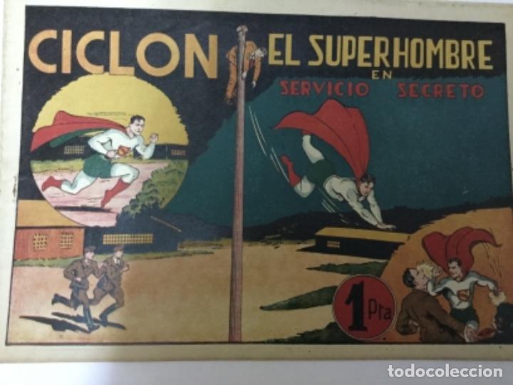Tebeos: Ciclon- col. Completa 16 ejemplares - extraordinaria conservación - Foto 45 - 170850895