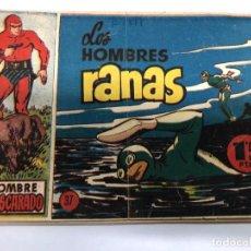 Tebeos: COMIC ORIGINAL EL HOMBRE ENMASCARADO Nº 37 COLECCION 12 X 17 CMTS EDITORIAL HISPANO AMERICANA. Lote 170923520