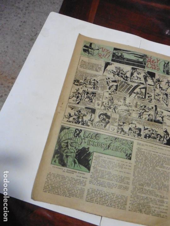 Tebeos: AVENTURERO 2ª Nº 8 HISPANOAMERICANA ORIGINAL - Foto 5 - 171048905