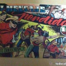 Tebeos: EL JINETE ENMASCARADO (LONE RANGER) - LOTE DE 7 (EXTRAORDINARIA CONSERVACIÓN). Lote 171113940
