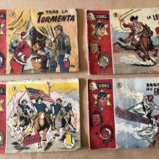 Tebeos: LOTE DE 4 CÓMICS AUDAZ - EDITORIAL HISPANOAMERICANA. Lote 171166759