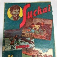 Tebeos: COMIC ORIGINAL SUCHAI Nº 34 EDITORIAL HISPANO AMERICANA . Lote 171340040