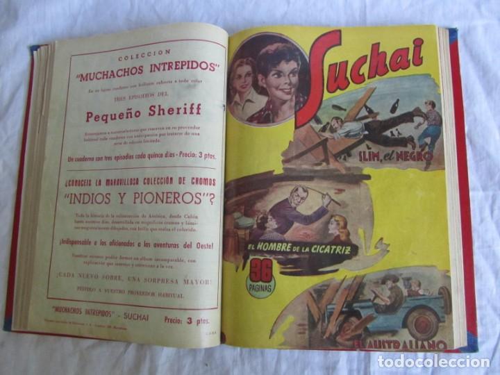 Tebeos: 10 números encuadernados de Suchai el pequeño limpiabotas (1-10) - Foto 11 - 171352755