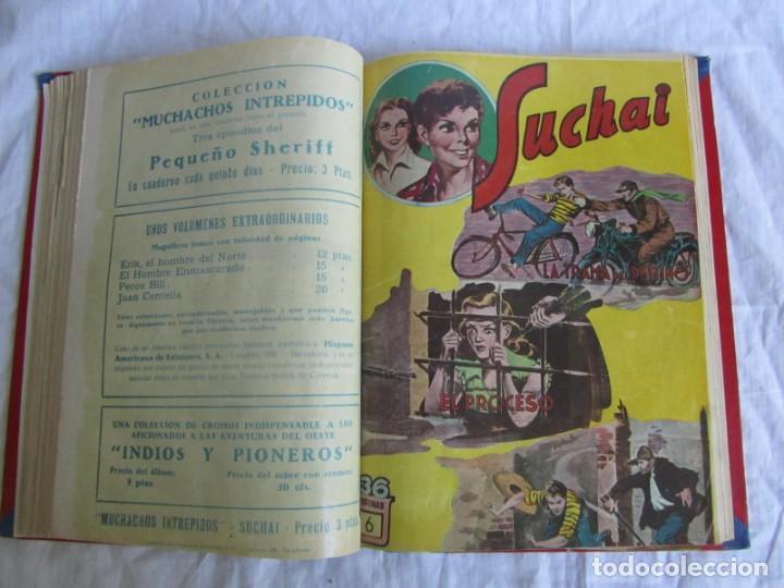 Tebeos: 10 números encuadernados de Suchai el pequeño limpiabotas (1-10) - Foto 12 - 171352755