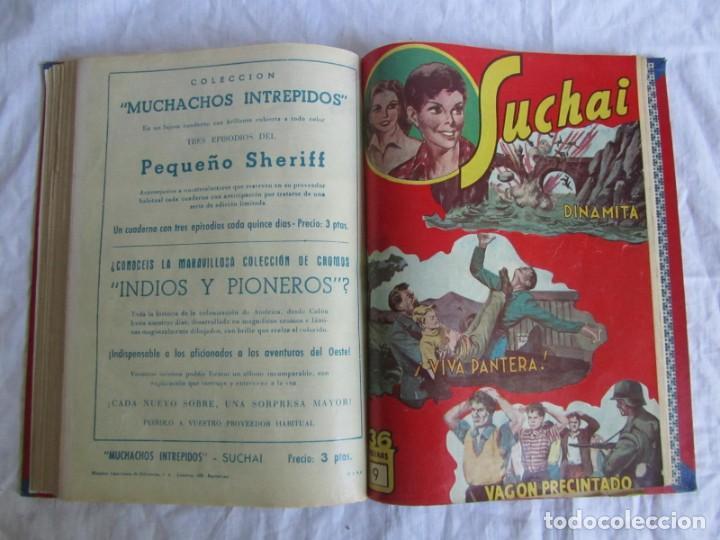 Tebeos: 10 números encuadernados de Suchai el pequeño limpiabotas (1-10) - Foto 15 - 171352755