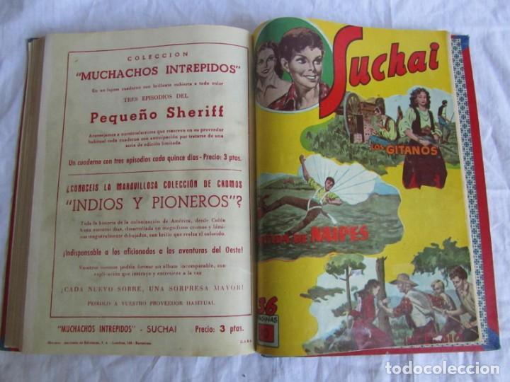 Tebeos: 10 números encuadernados de Suchai el pequeño limpiabotas (1-10) - Foto 16 - 171352755