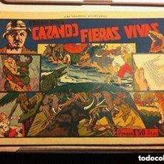 Tebeos: CAZANDO FIERAS VIVAS - Nº. 1- MUY BIEN CONSERVADO. Lote 171410744