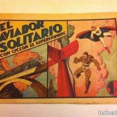Tebeos: CICLON - EL AVIADOR SOLITARIO- MUY BIEN CONSERVADO. Lote 171411917