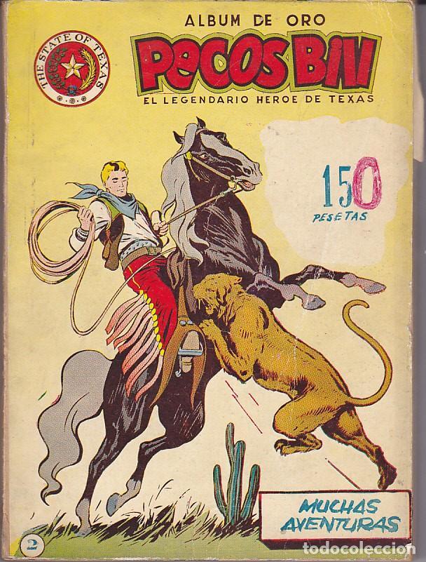 TOMO Nº 2 ALBUM DE ORO PECOS BILL DEL NUMERO 17 AL 32 CON TODAS LAS PORTADAS (Tebeos y Comics - Hispano Americana - Yumbo)