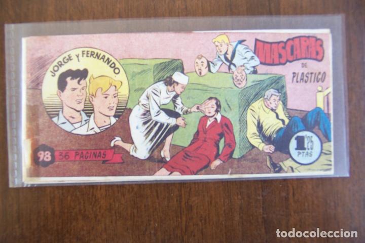 JORGE Y FERNANDO BOLSILLO Nº 98 (Tebeos y Comics - Hispano Americana - Jorge y Fernando)