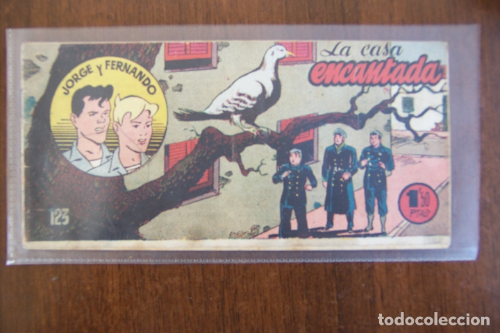 JORGE Y FERNANDO BOLSILLO Nº 123 (Tebeos y Comics - Hispano Americana - Jorge y Fernando)