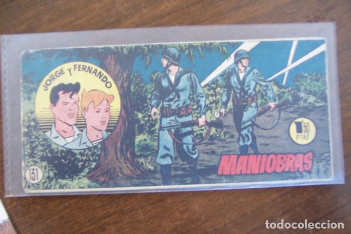 JORGE Y FERNANDO BOLSILLO Nº 131 (Tebeos y Comics - Hispano Americana - Jorge y Fernando)