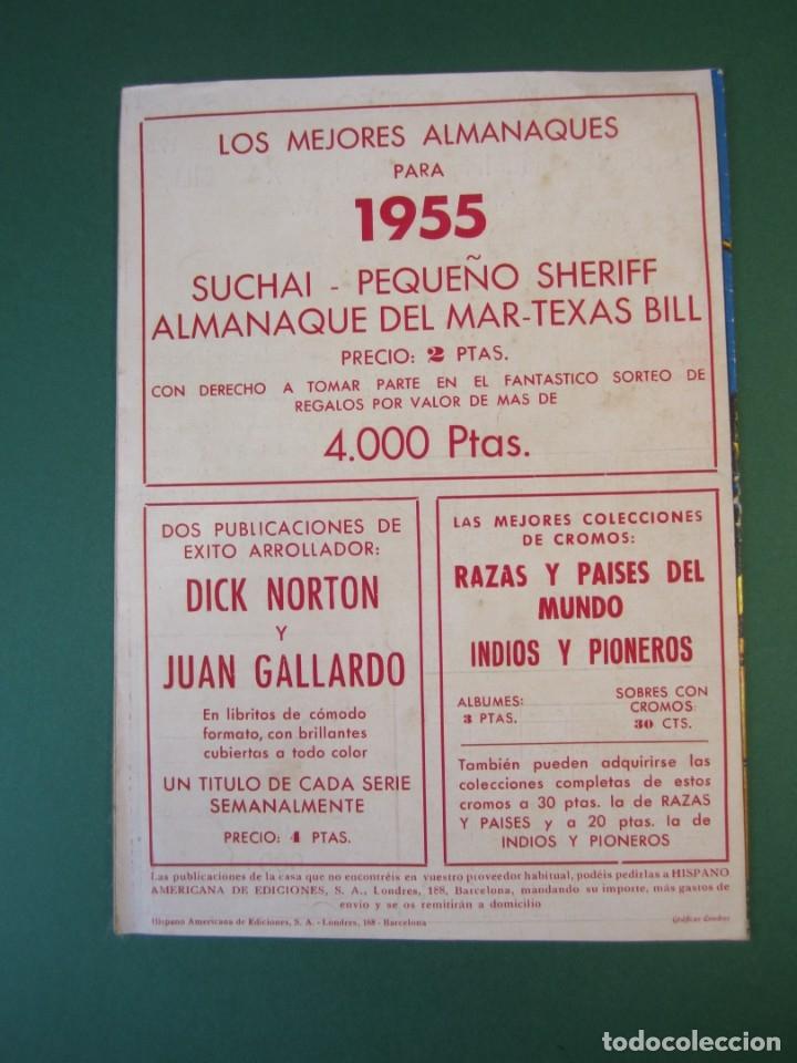 Tebeos: SUCHAI (1949, HISPANO AMERICANA) EXTRA 1 · XII-1954 · ALMANAQUE 1955 *** EXCELENTE *** - Foto 2 - 172658743