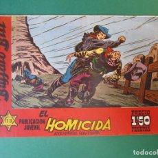 Tebeos: BUFFALO BILL (1958, HISPANO AMERICANA) 13 · 30-IV-1958 · EL HOMICIDA. Lote 172727424