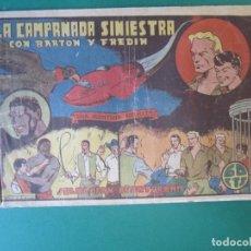 Tebeos: BARTON (1941, VALENCIANA) 3 · 1941 · LA CAMPANADA SINIESTRA. Lote 172727567