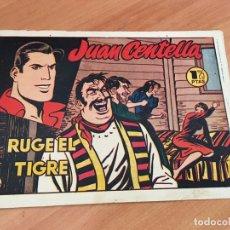 Tebeos: JUAN CENTELLA Nº 34 RUGE EL TIGRE (ORIGINAL HISPANO AMERICANA) (COIB23). Lote 173597883