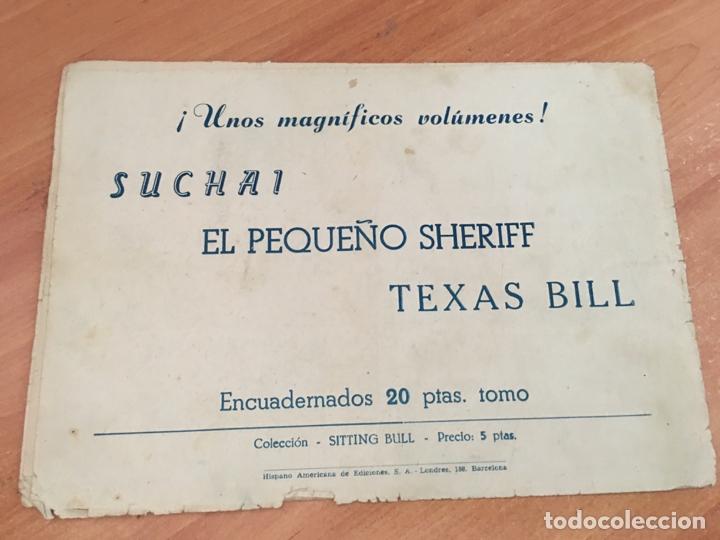 Tebeos: JUAN CENTELLA Nº 25 LLAMAS SOBRE EL AGUA (ORIGINAL HISPANO AMERICANA) (COIB23) - Foto 2 - 173597937