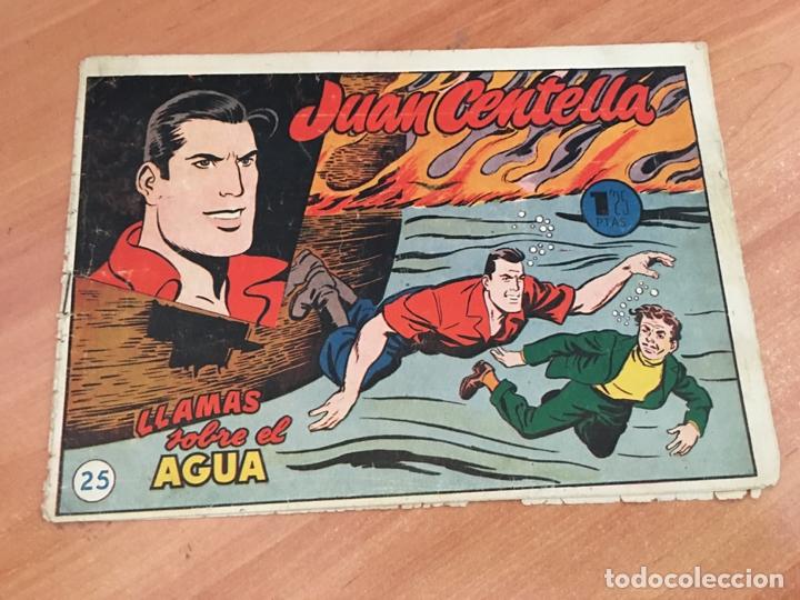 JUAN CENTELLA Nº 25 LLAMAS SOBRE EL AGUA (ORIGINAL HISPANO AMERICANA) (COIB23) (Tebeos y Comics - Hispano Americana - Juan Centella)